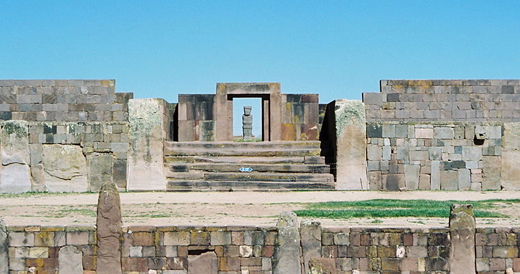 Археологический комплекс Тиуанако, Боливия