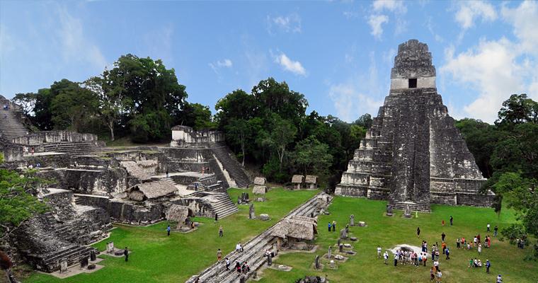 Тикаль руины майя, Гватемала
