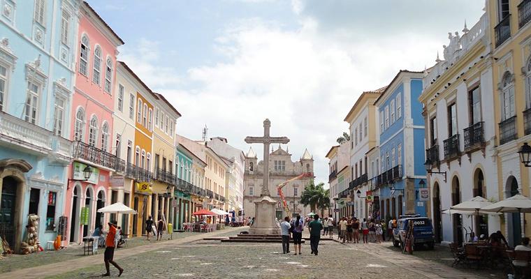 Исторический центр города Баия, Сальвадор
