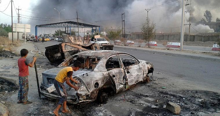 КПП, Ирак