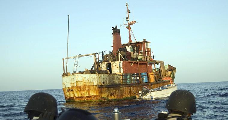 Захват сомалийских пиратов, Сомали
