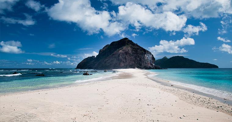 Пляж на острове Майотта