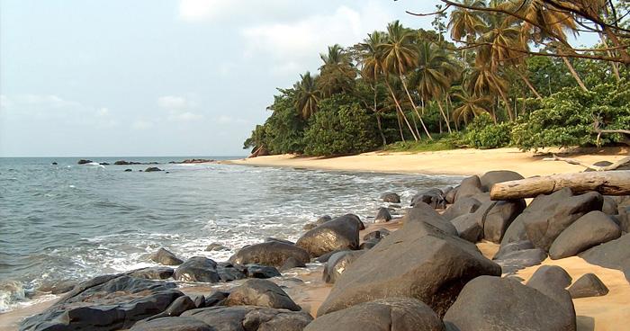 Пляж Криби, Камерун