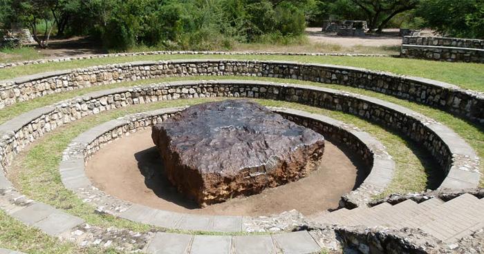 Метеорит Гоба, крупнейший на Земле, Намибия