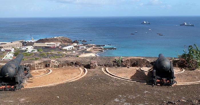 Форт, остров Святой Елены