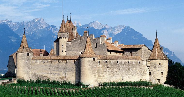 Замок Daigle, Швейцария