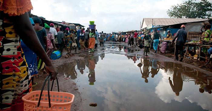 Рыбный рынок, Гвинея-Бисау
