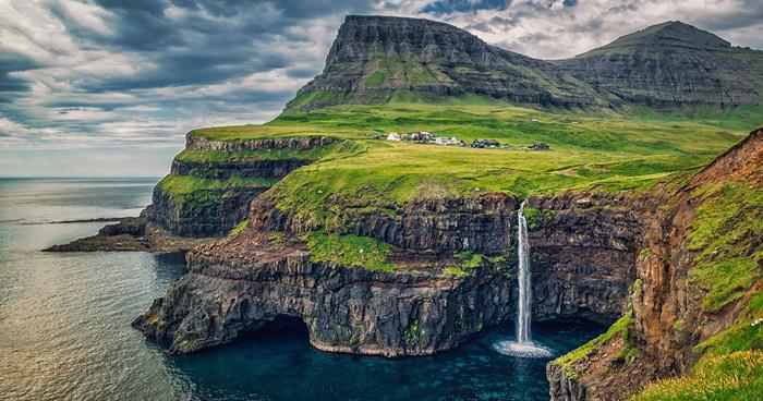 Деревня Гасадалур, Фарерские острова