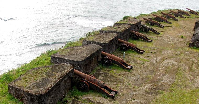 Форт Niebla, Чили