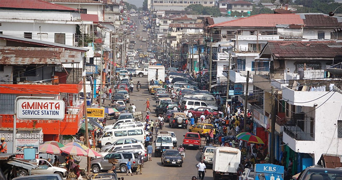 Монровия, Либерия