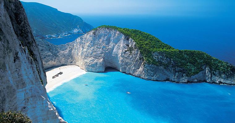 Пляж Myrtos, Греция