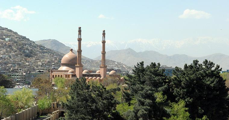 Абдул Рахман мечеть в Кабуле.