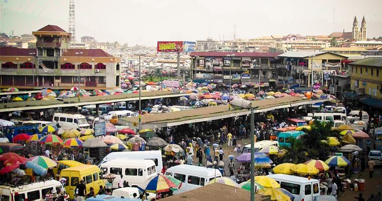 Кумаси, Гана