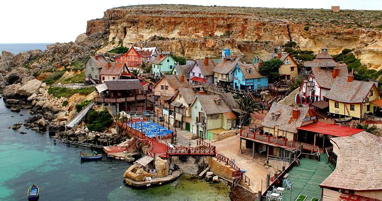 Дома на побережье г. Меллиху, Мальта