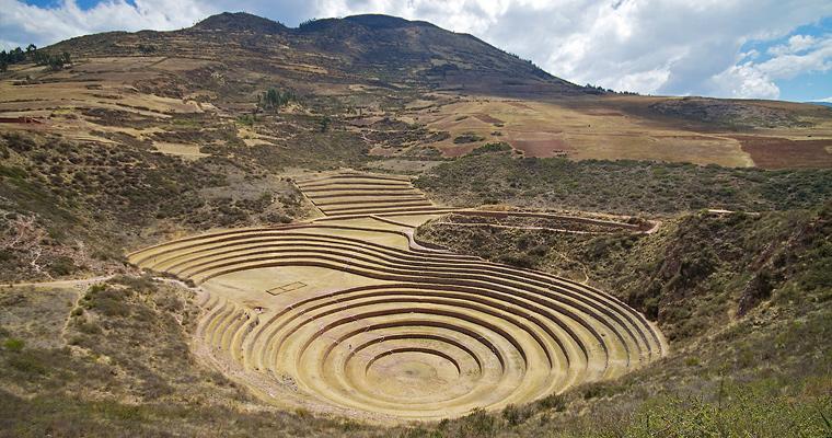 Руины Морей, Перу