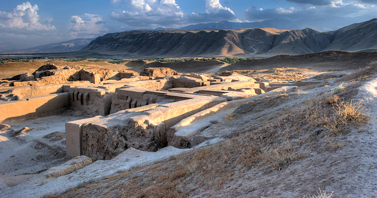 Nissa столица Парфянского царства, Туркменистан