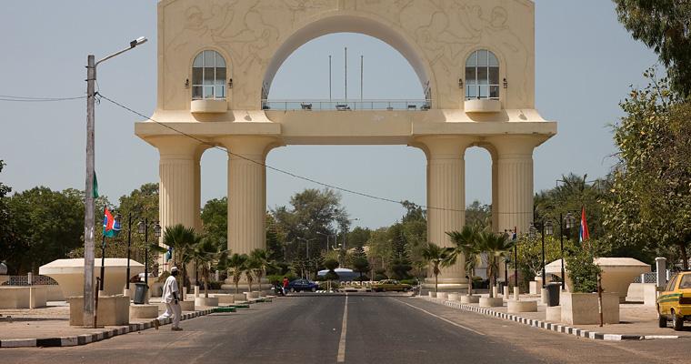 Памятник в честь переворота 1994 года, Гамбия