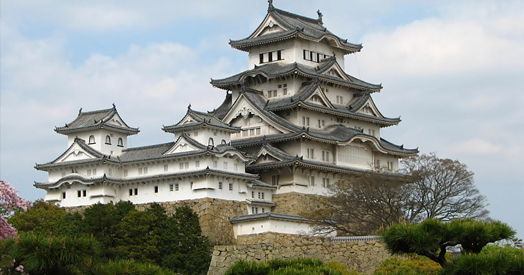 Замок Химэдзи (Himeji)