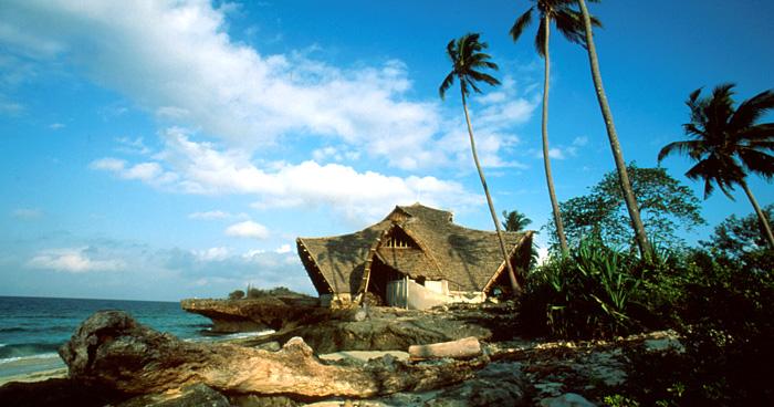 Дом на пляже, Танзания