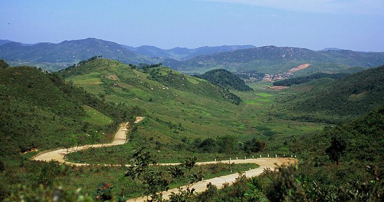 Западное побережье Северной Кореи
