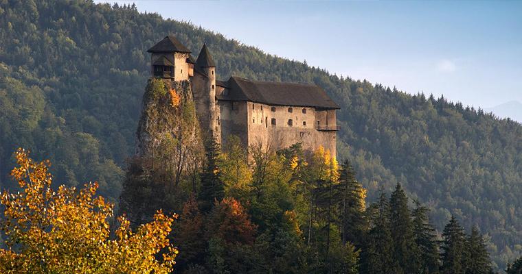 Замок Орава, Словакия