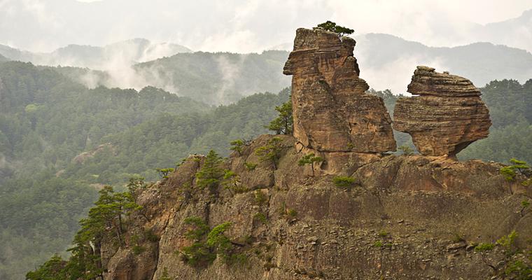 Горы Чхильбо, Северная Корея