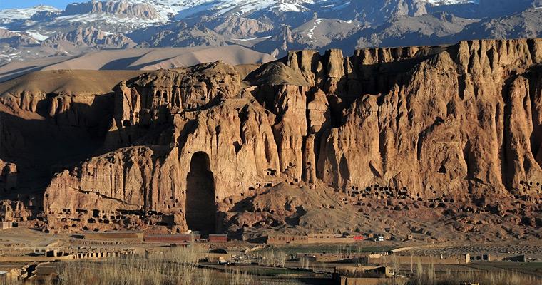 Остатки Долины Бамиан. Афганистан.
