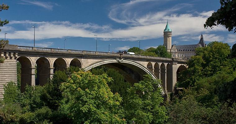 Мост им. Адольфа, Люксембург
