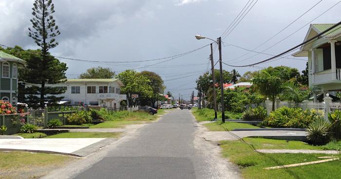 Улицах Джорджтауна, Гайана