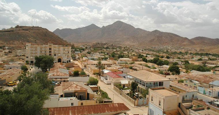 Второй по величине город Керен, Эритрея