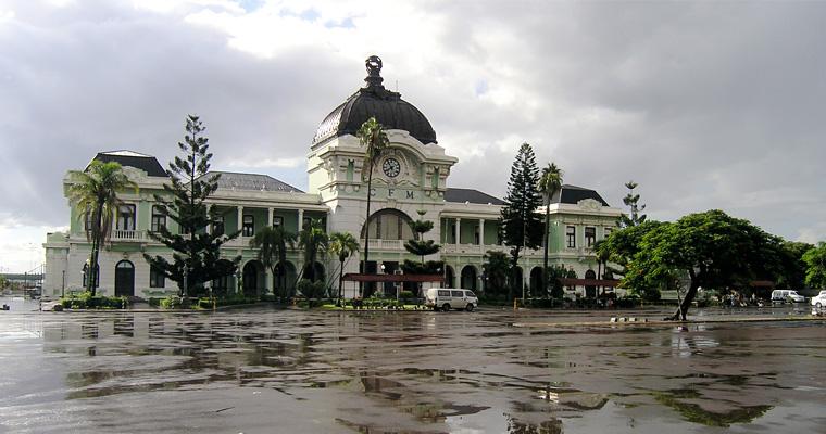 Мапуту железнодорожный вокзал, Мозамбик