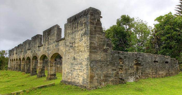 Руины старой исправительной колонии, Норфолк