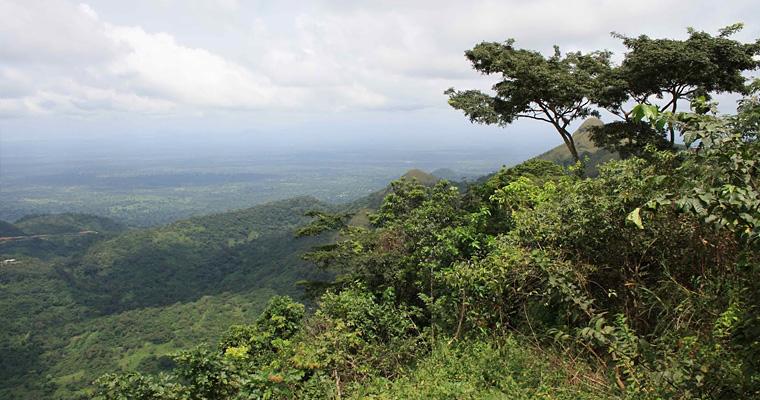 Природа, Гана
