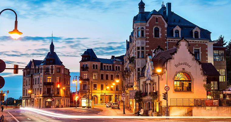Wachwitz, Дрезден, Германия