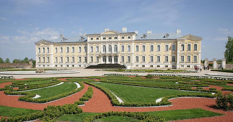Дворец Рундале, Латвия