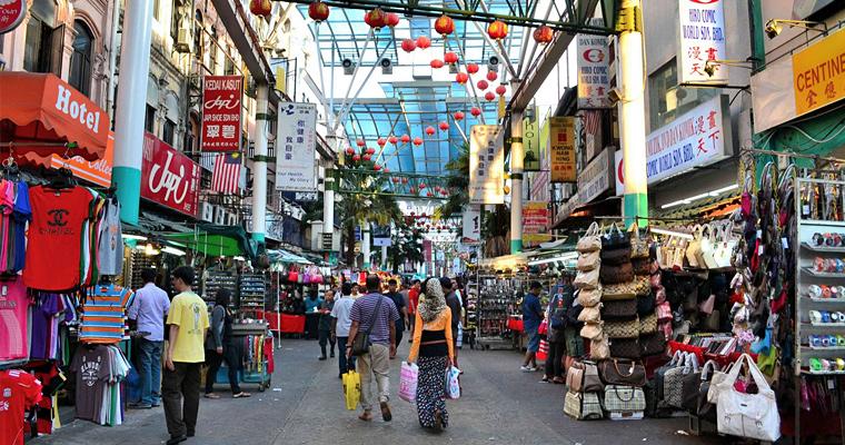 Улица Куала-Лумпур, Малайзия