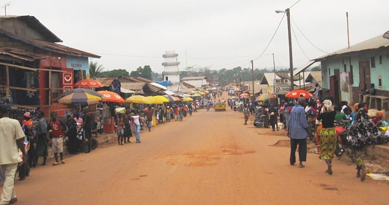 Главная улица Ганта, Габон