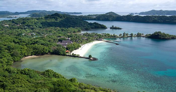 Остров Arakabesan, Корор, Палау