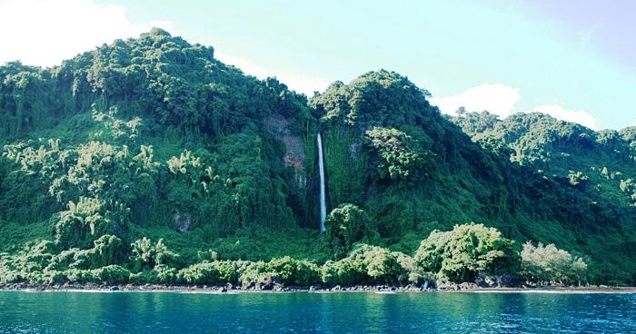 Водопад Вануа Лава, Вануату