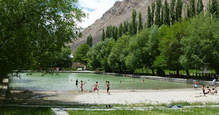 Центральный парк в Хороге, Таджикистан