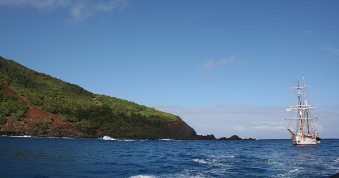 Мятеж на Bounty, Острова Питкэрн