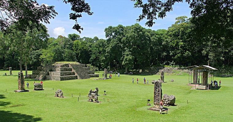 Руинас-де-Копан, Гондурас