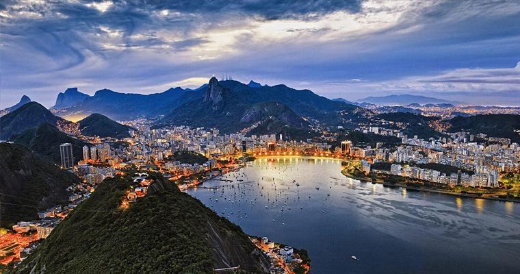 Городской пейзаж, Рио-де-Жанейро, Бразилия