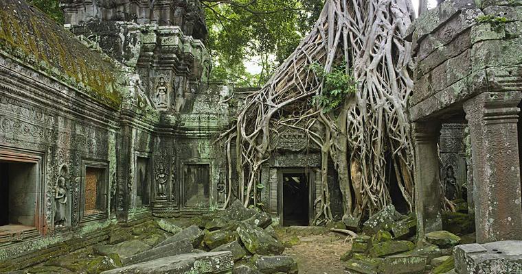 Руины Та Пром, Индия
