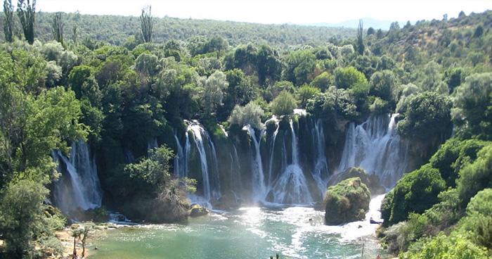 Водопады Кравице, Босния и Герцеговина