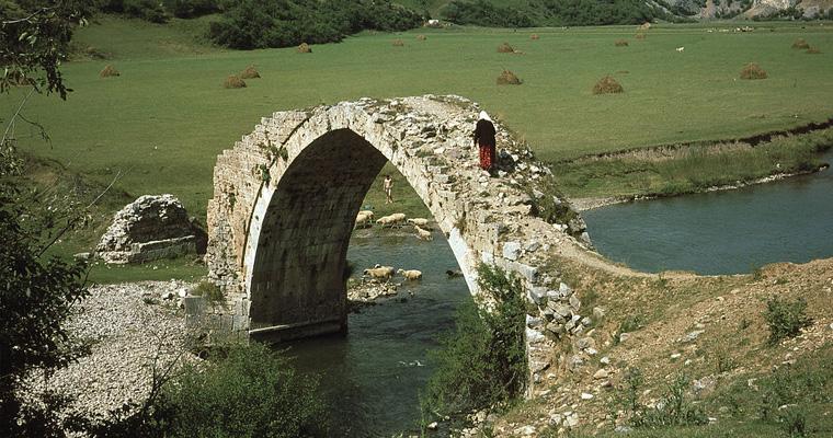 Мост на реци Увац, Сербия