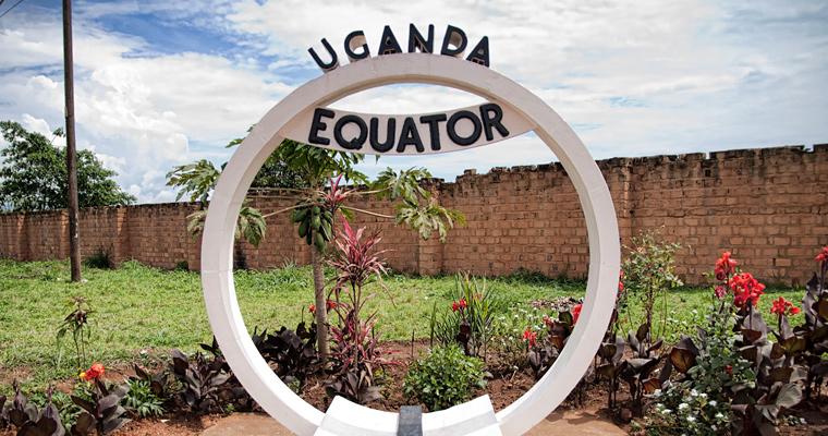 Линия экватора, Уганда