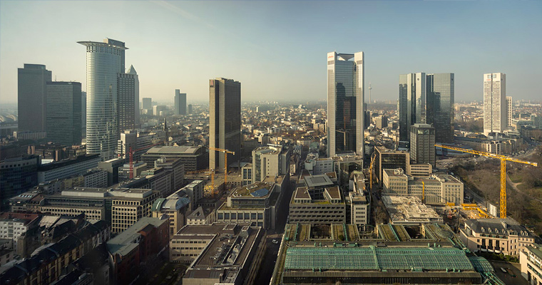 Skyline, Франкфурт