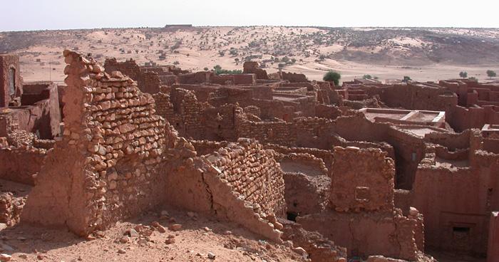 Древний город Oulata, Мавритании