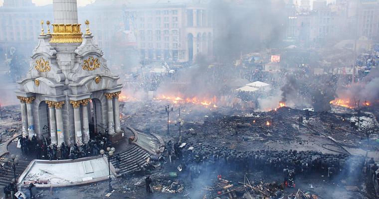 Госудаственный перерот на Украине в 2014 году